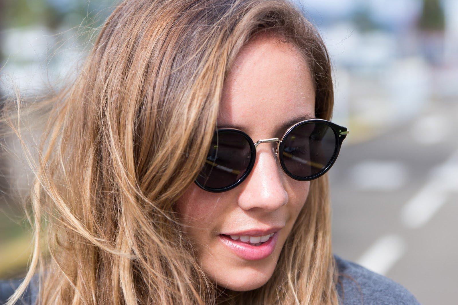 lunettes soleil Céline Grand Optical Tenue pour prendre l'avion