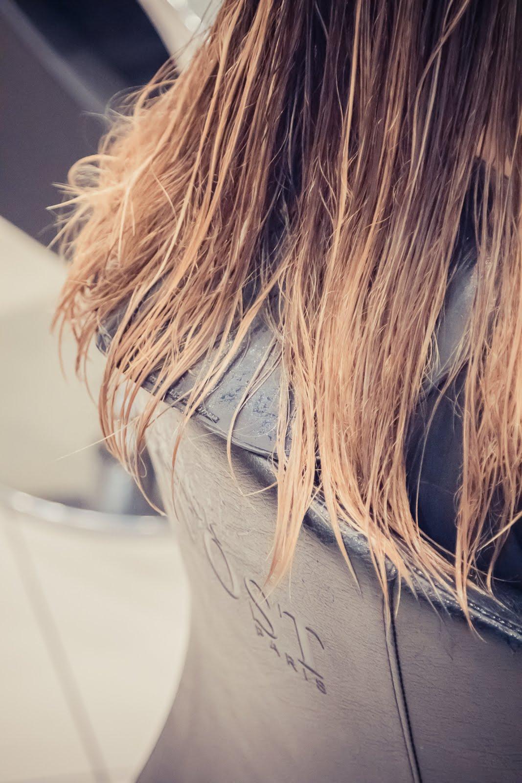 cheveux méchés blonds