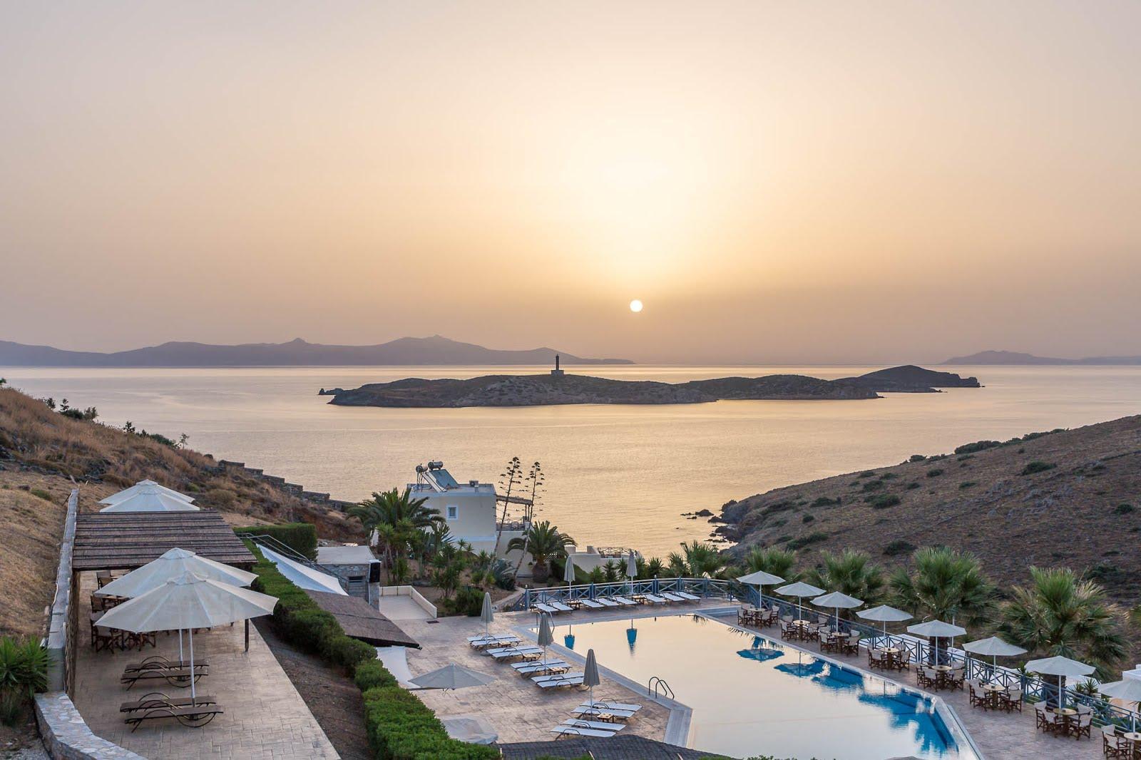 lever de soleil grèce Syros