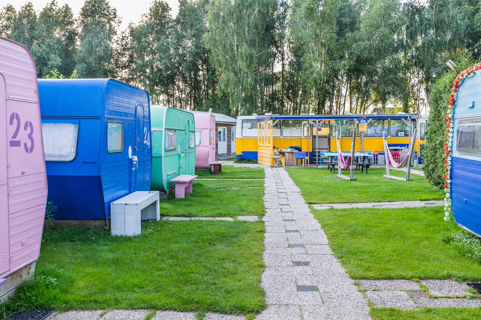 camping roulottes Amsterdam