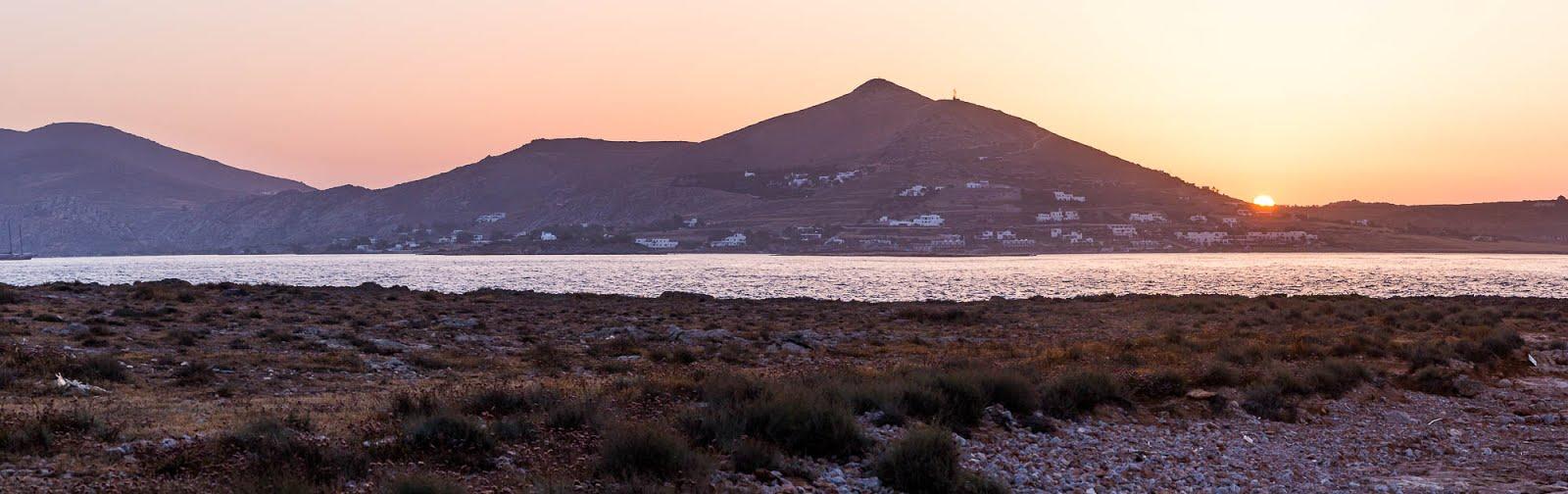 coucher de soleil Paros