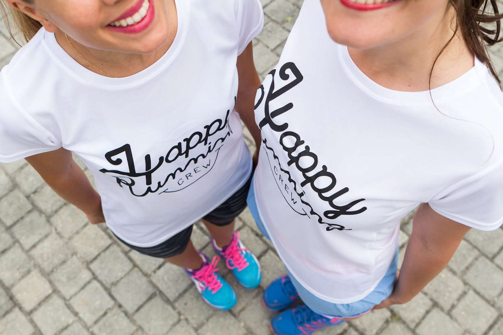 t-shirt Happy Running Crew