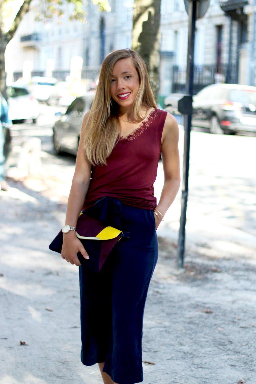 Blogueuse tenue rentrée