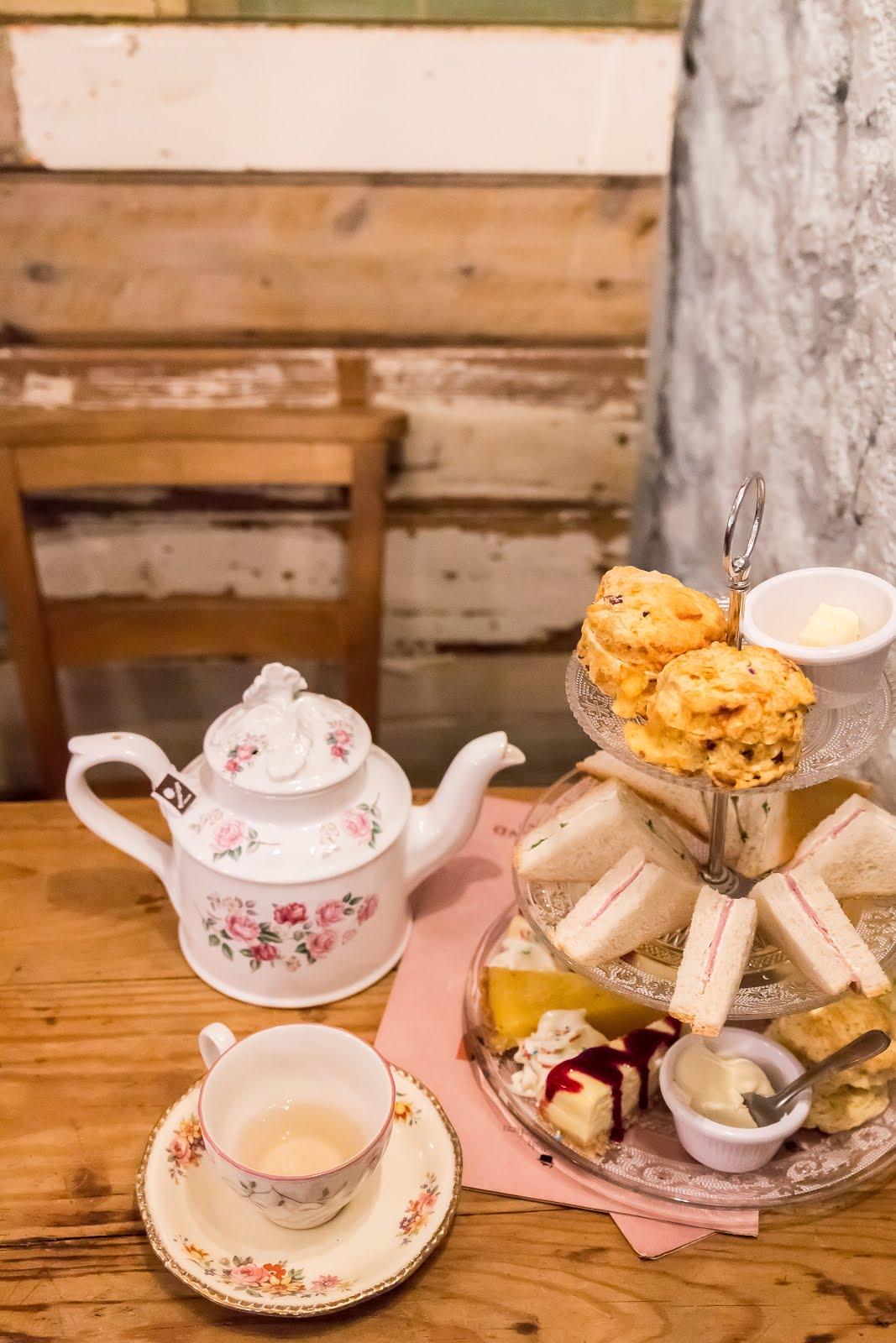 Afternoon tea goûter angleterre