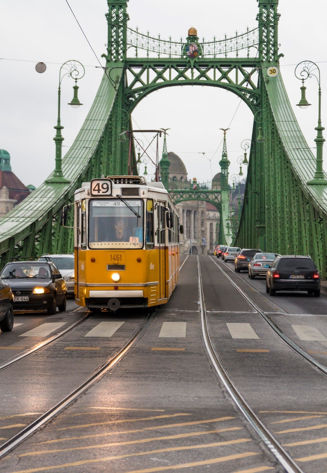 Budapest tramway visite week-end