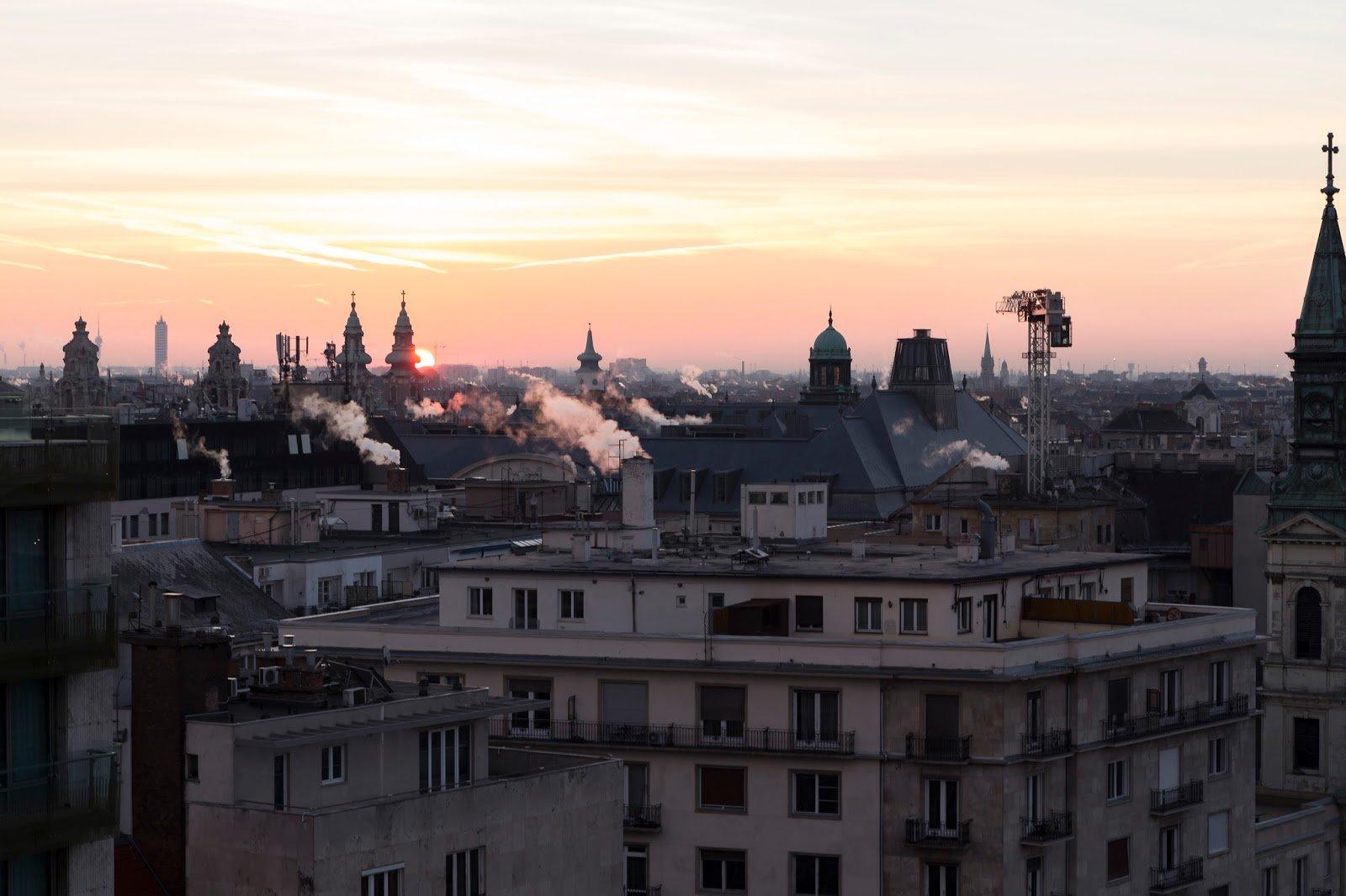 Budapest lever de soleil