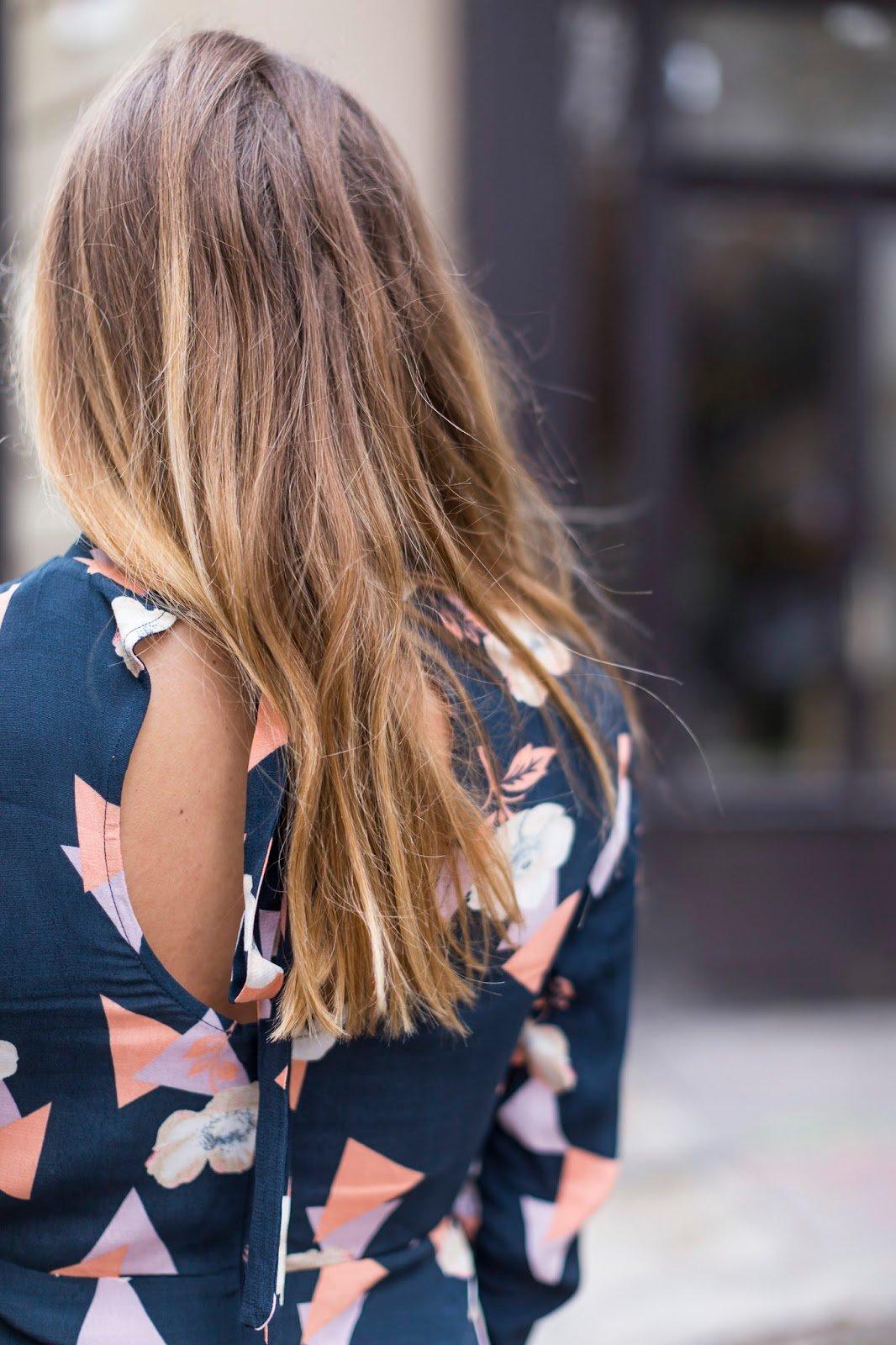 robe imprimé géométrique