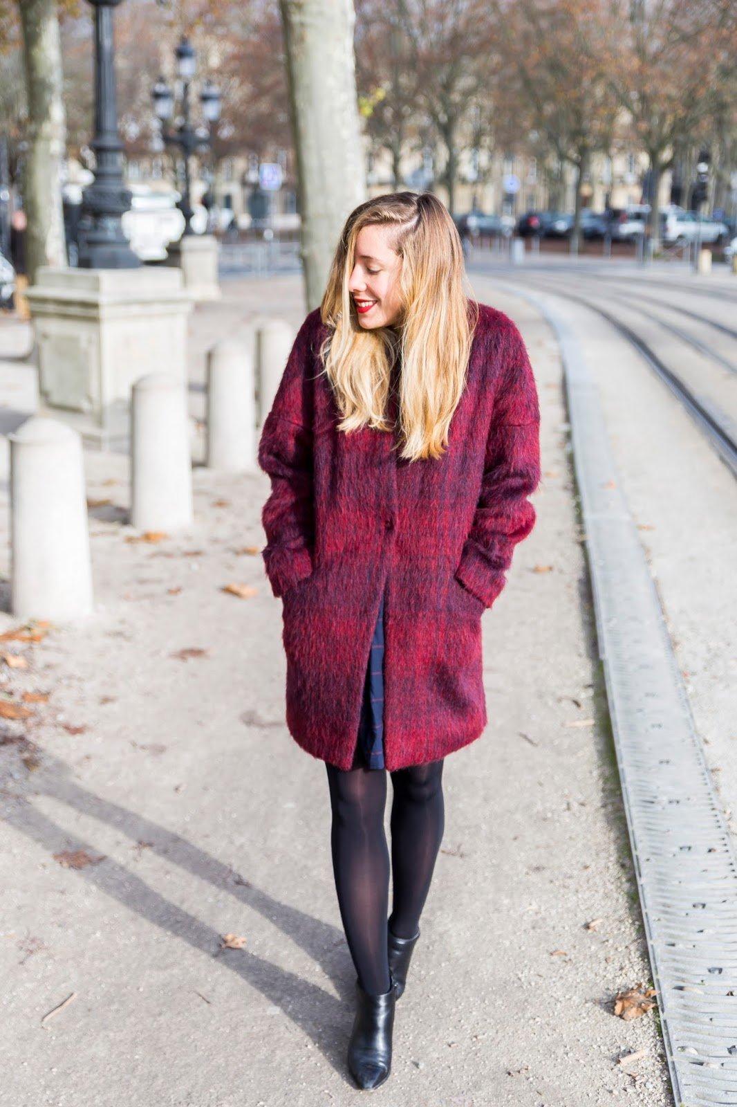 manteau comptoir des cotonniers