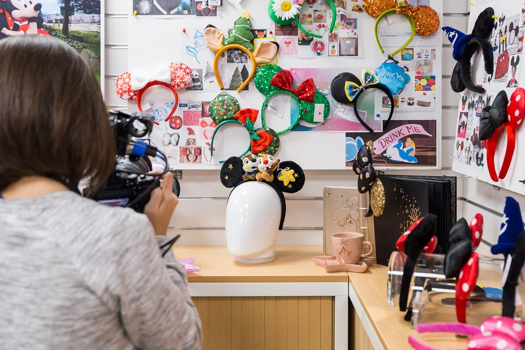 tournage My Sparkling 25 DisneyLand Paris