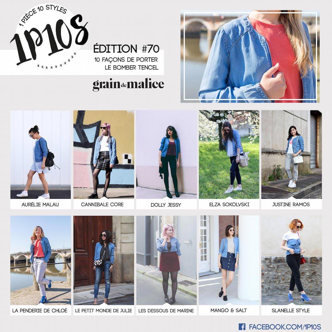 1P10S 1 Pièce 10 Styles