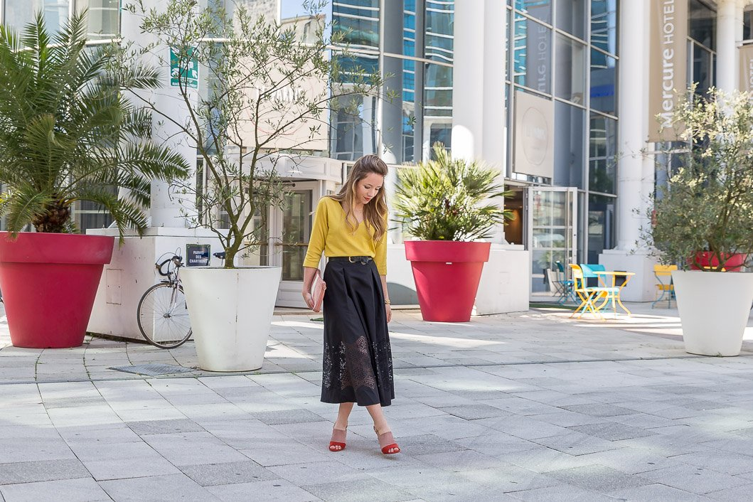 blog mode tenue du jour Zeste de citron