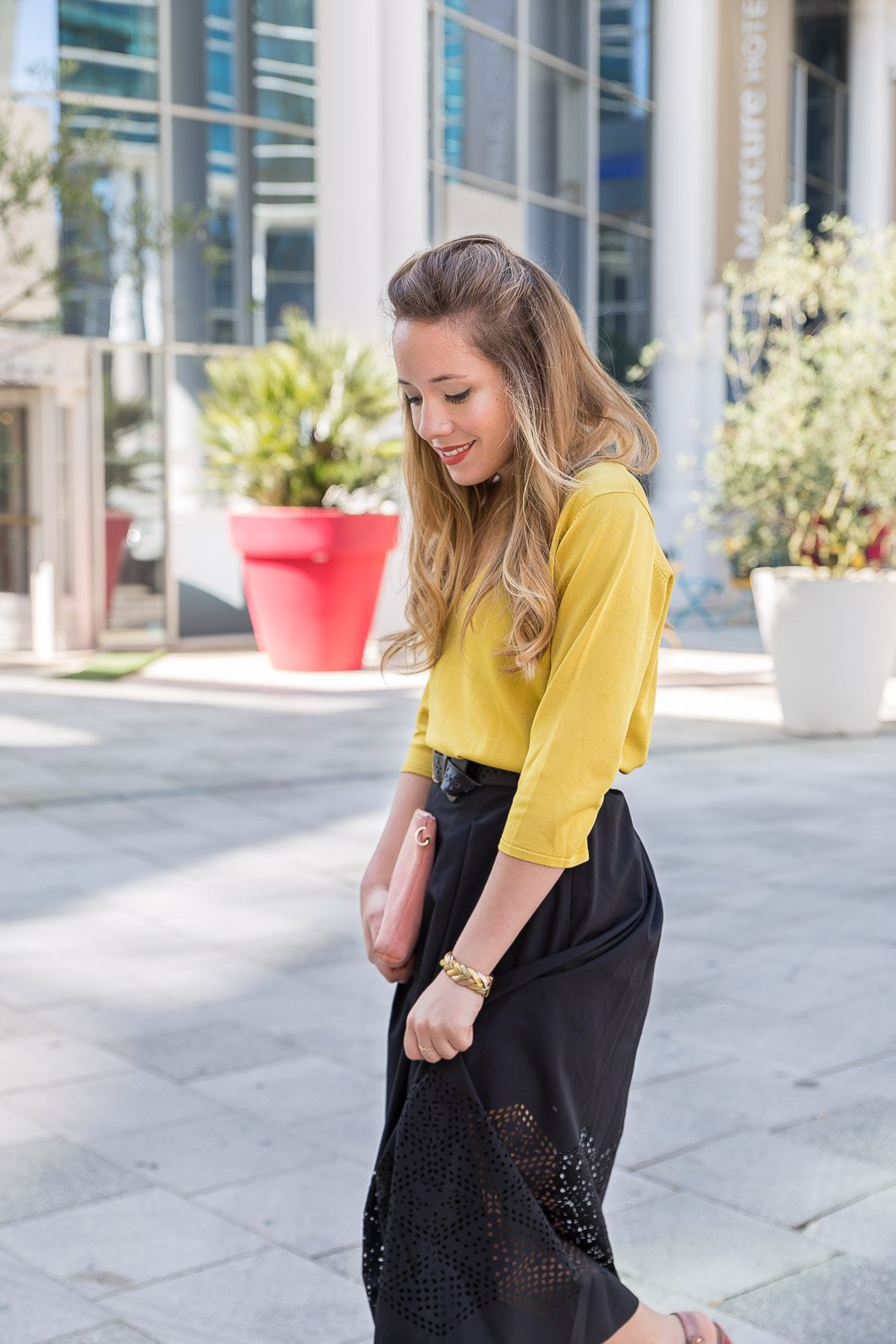 blog mode total look Zeste de citron Devernois