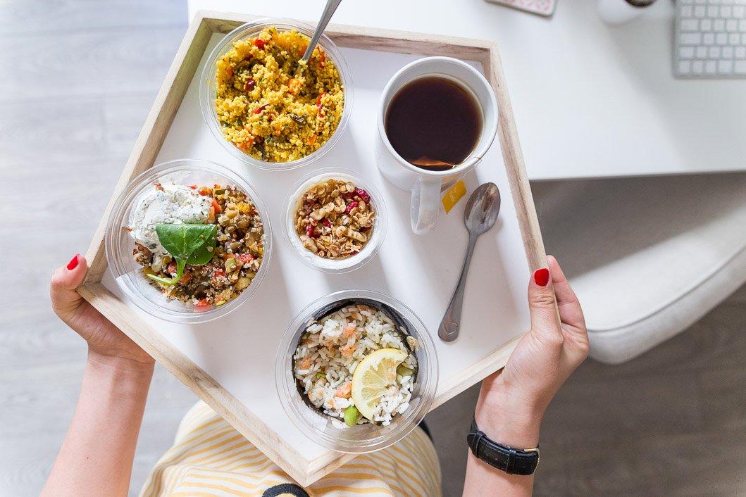 Pause déjeuner bon app carrefour