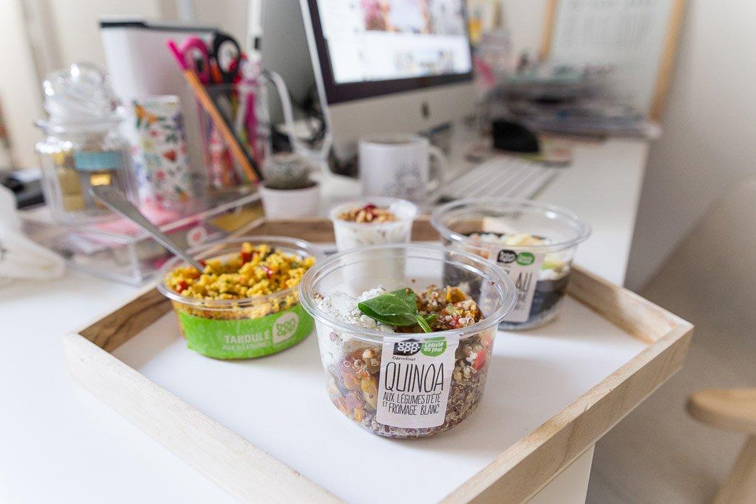 Bon App' Carrefour test salades