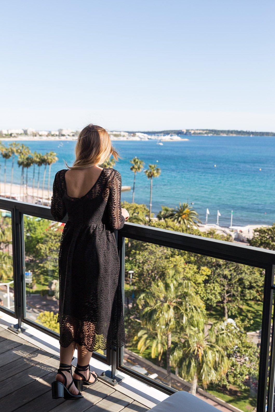Suite hôtel Barrière Cannes