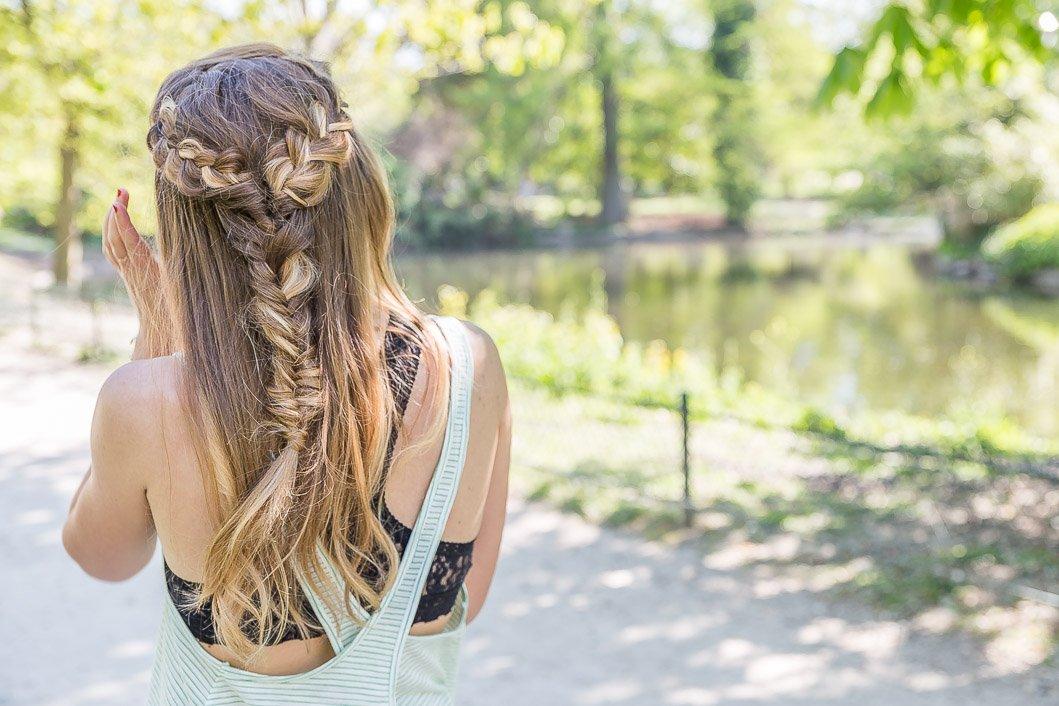 coiffure cheveux longs printemps