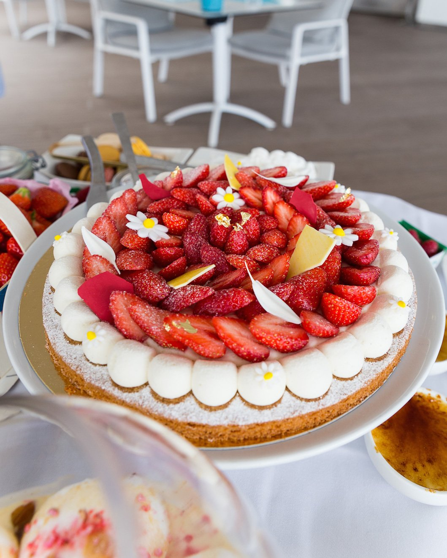 tarte aux fraises Cannes Majestic