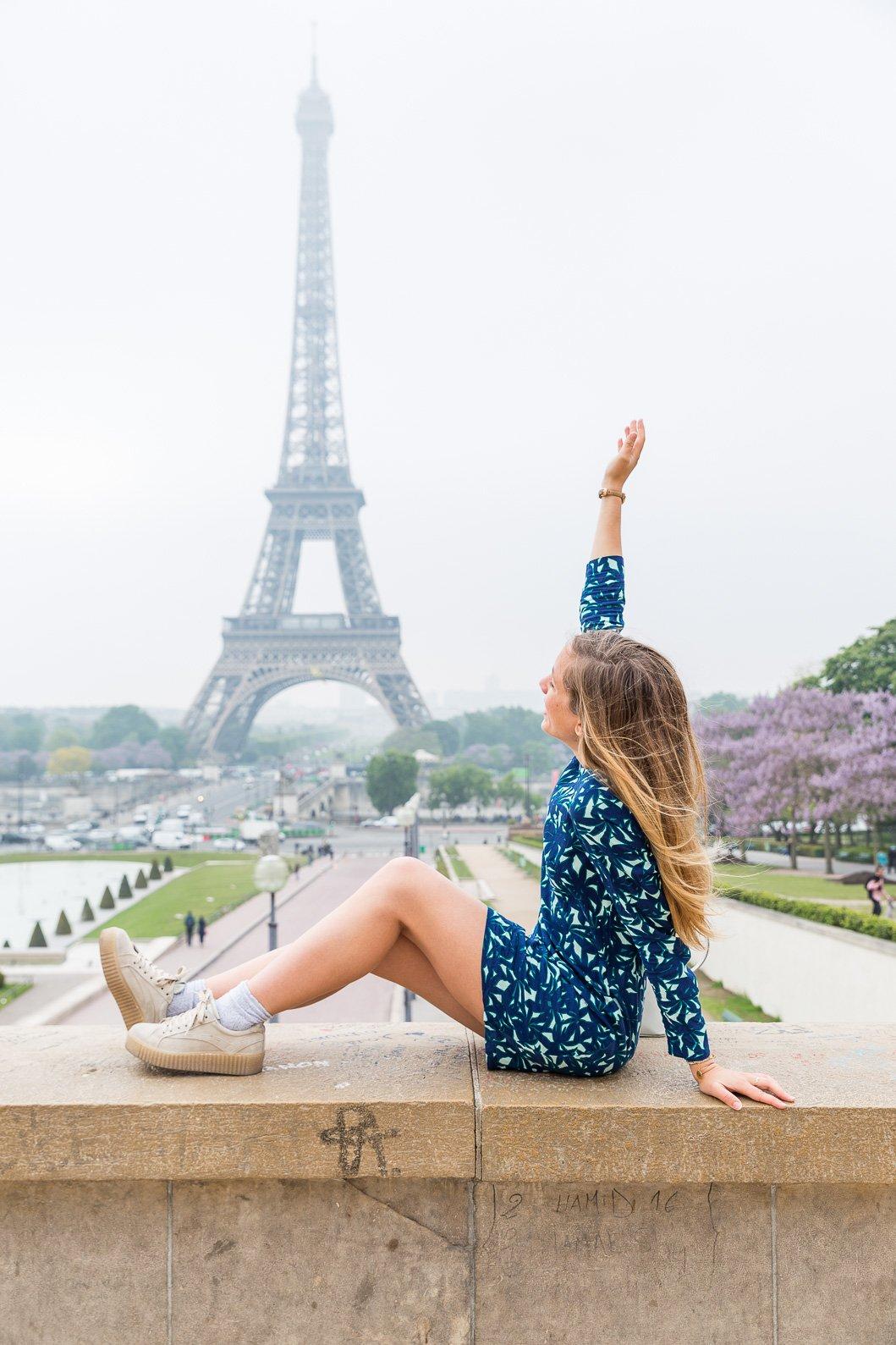 Tour Eiffel blog mode Paris