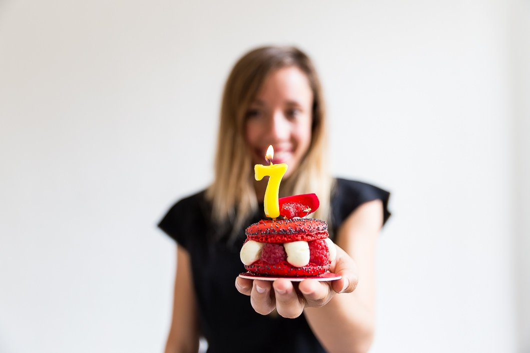 7 ans anniversaire blogueuse
