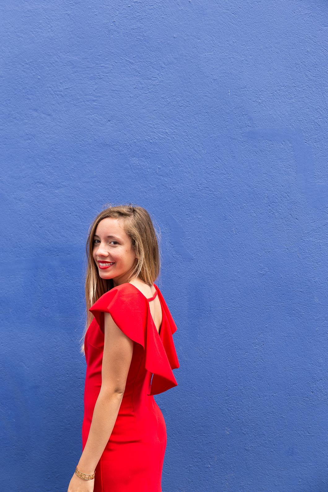 blog mode robe rouge 1 blog mode la penderie de chloe. Black Bedroom Furniture Sets. Home Design Ideas
