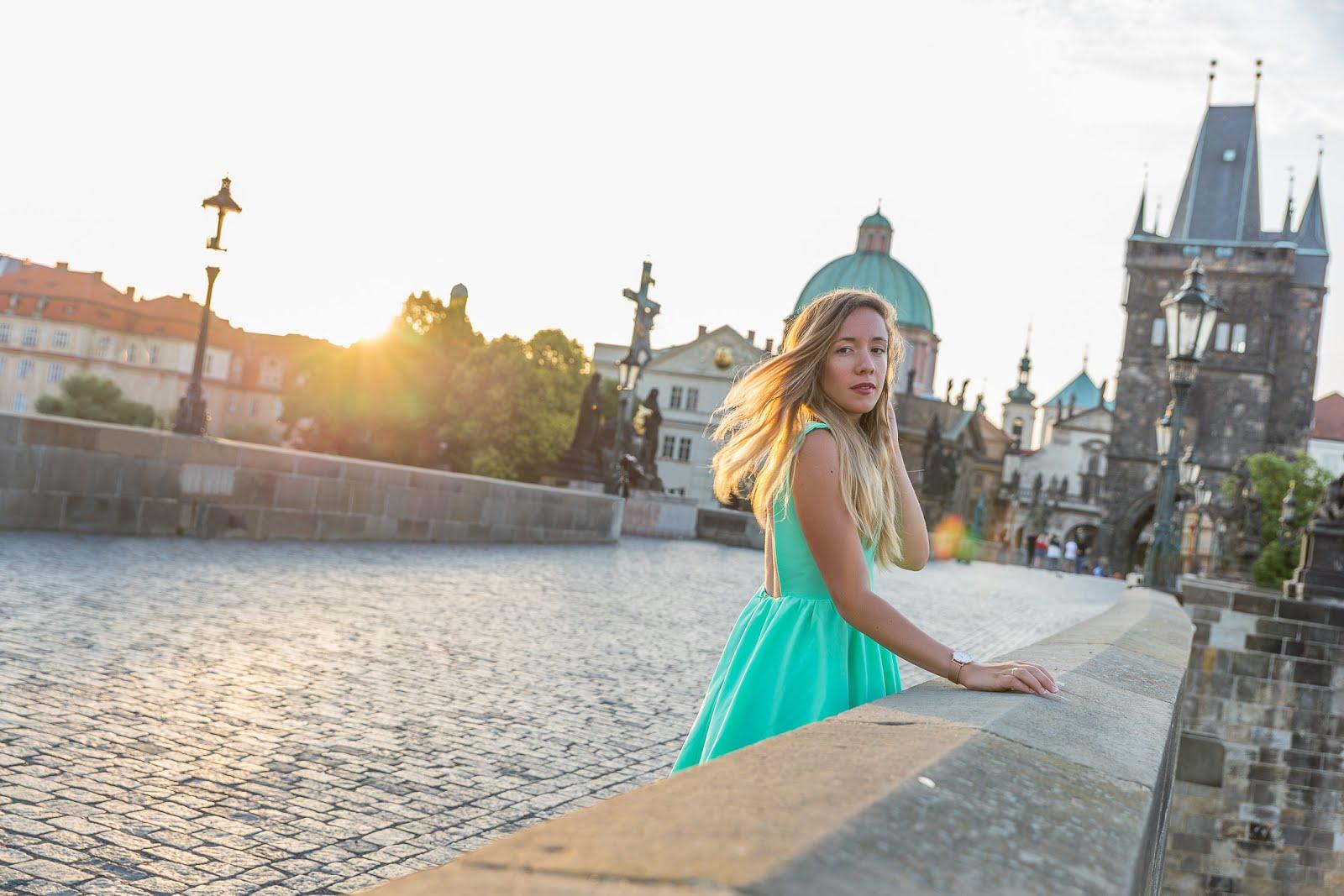 Blog mode voyage Prague pont Charles