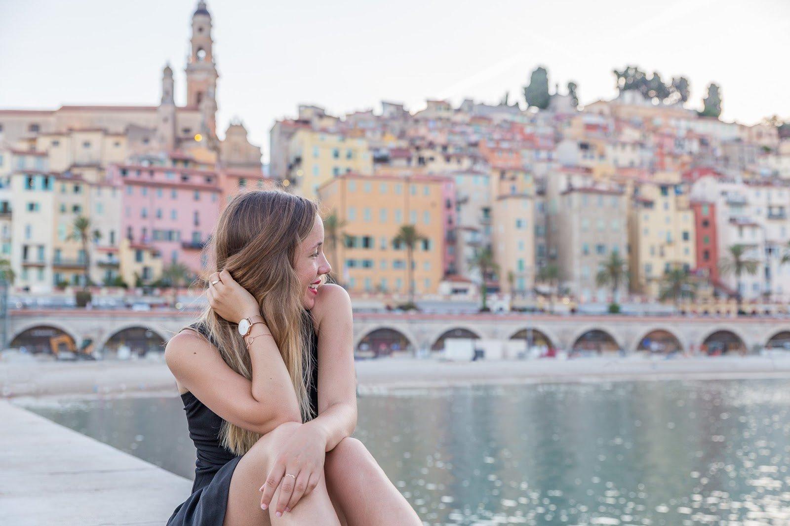 blogueuse mode cote azur à Menton