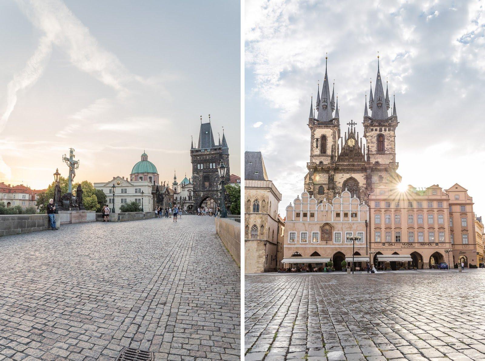Monuments célèbres Prague