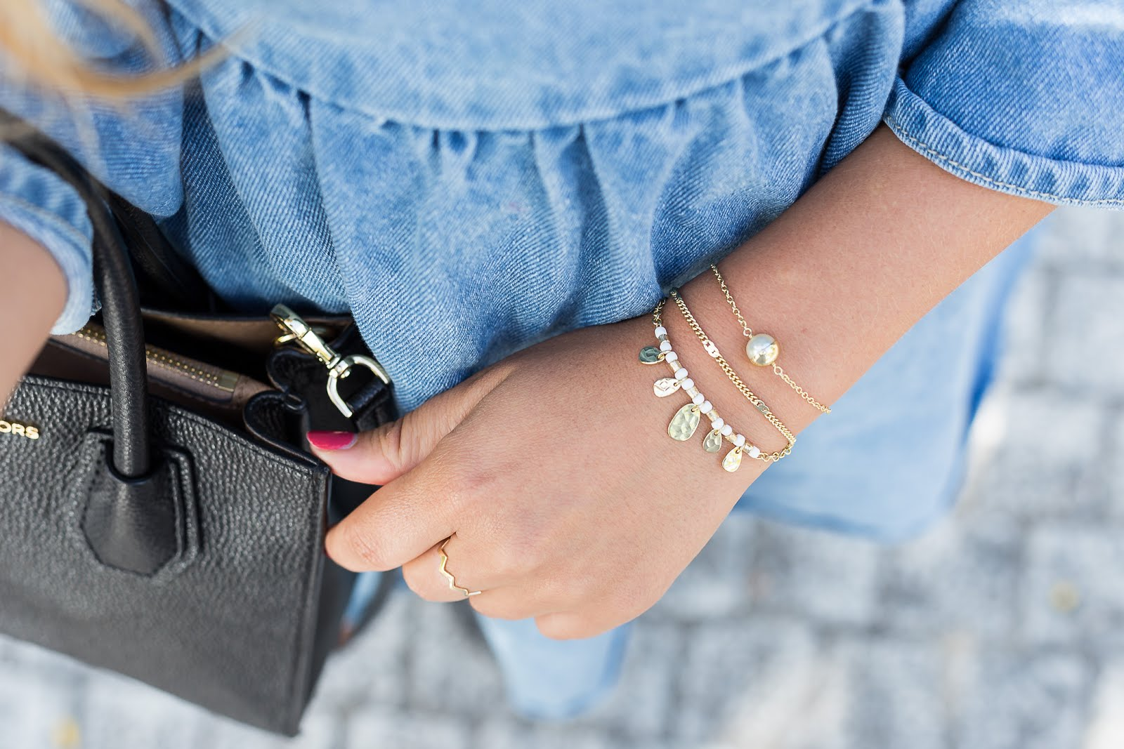 Bracelets fins or Agataha Paris