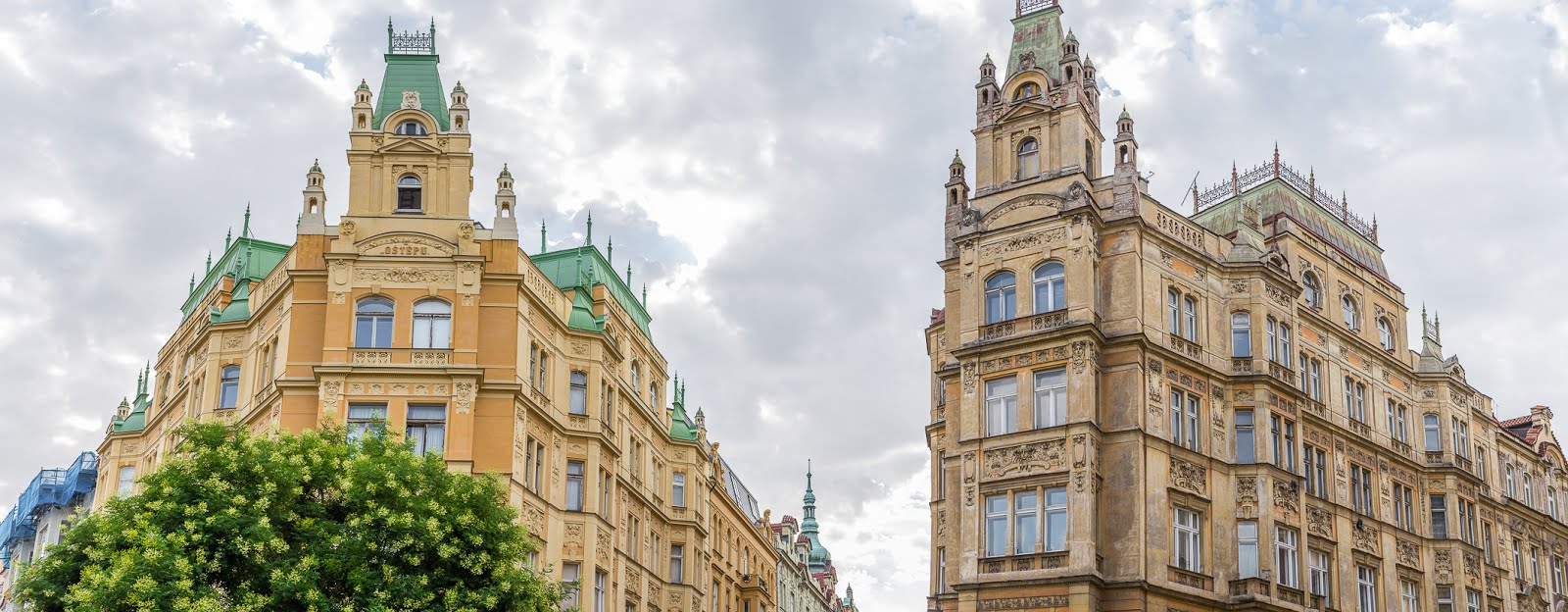 Prague architecture voyage