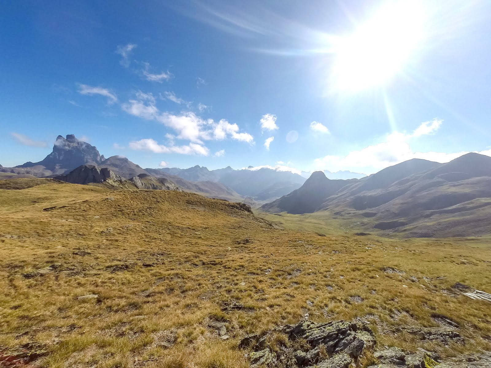 Pic du Midi d'Ossau randonner trail