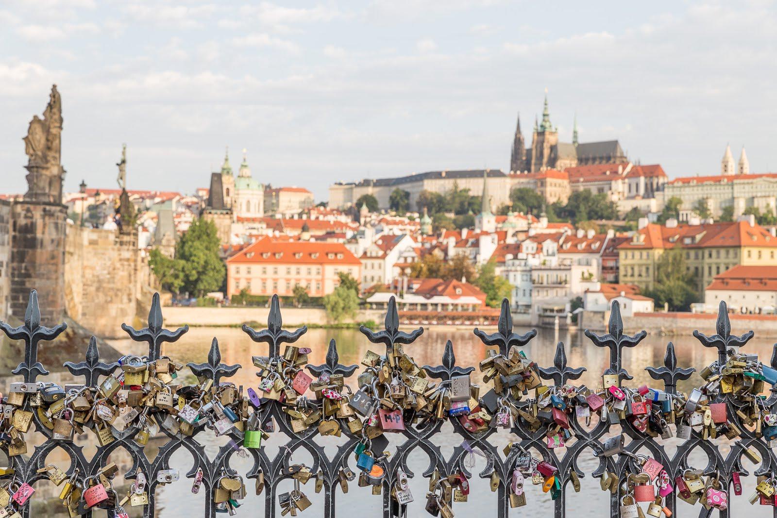 Prague pont célèbre
