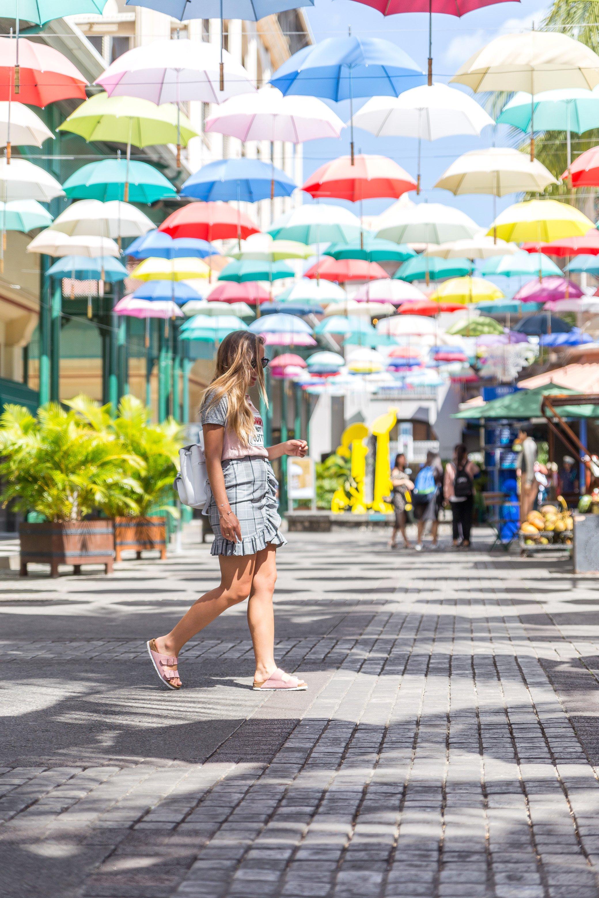 Blogueuse mode à l'île Maurice