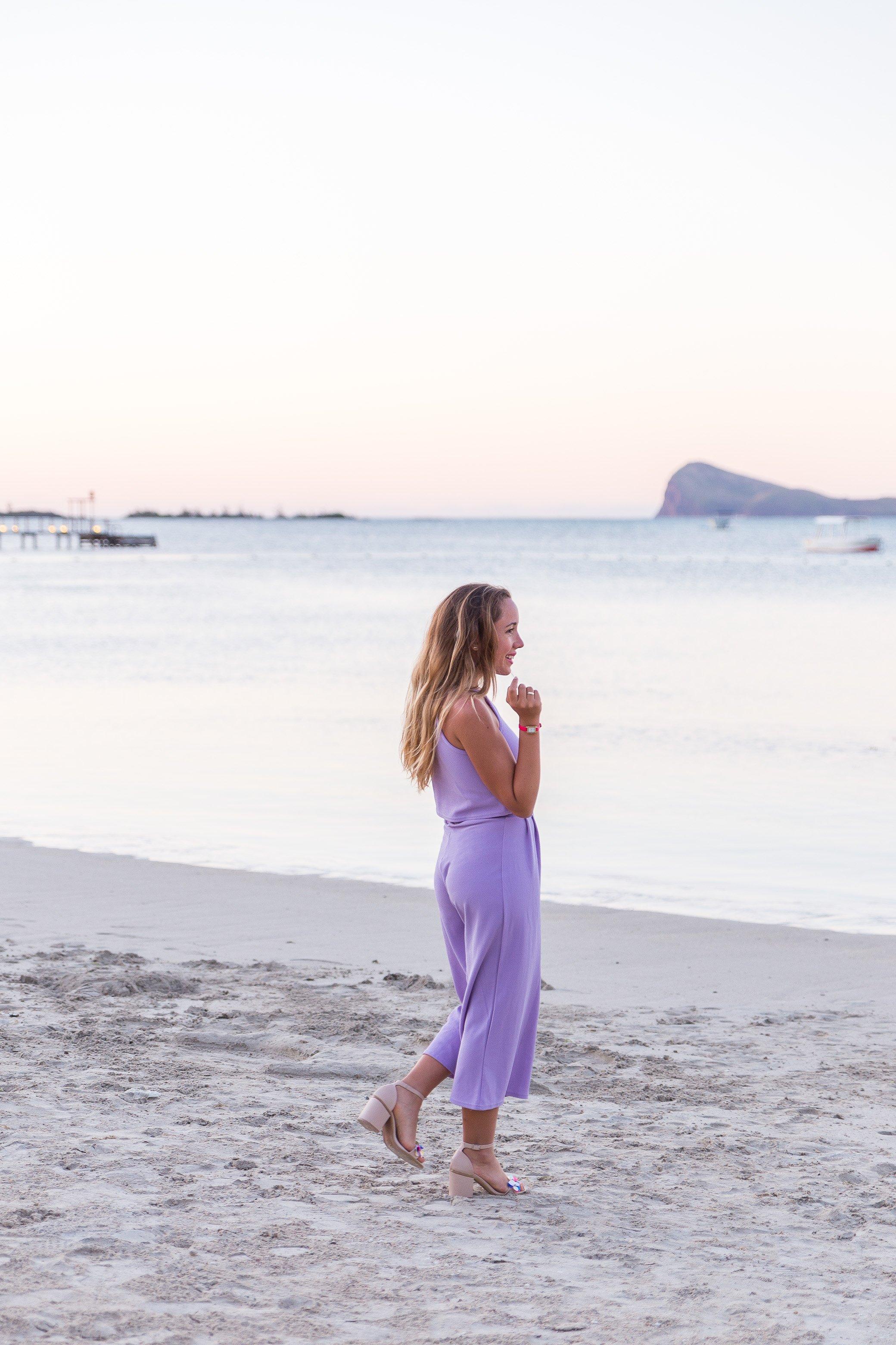 blog mode tenue lilas