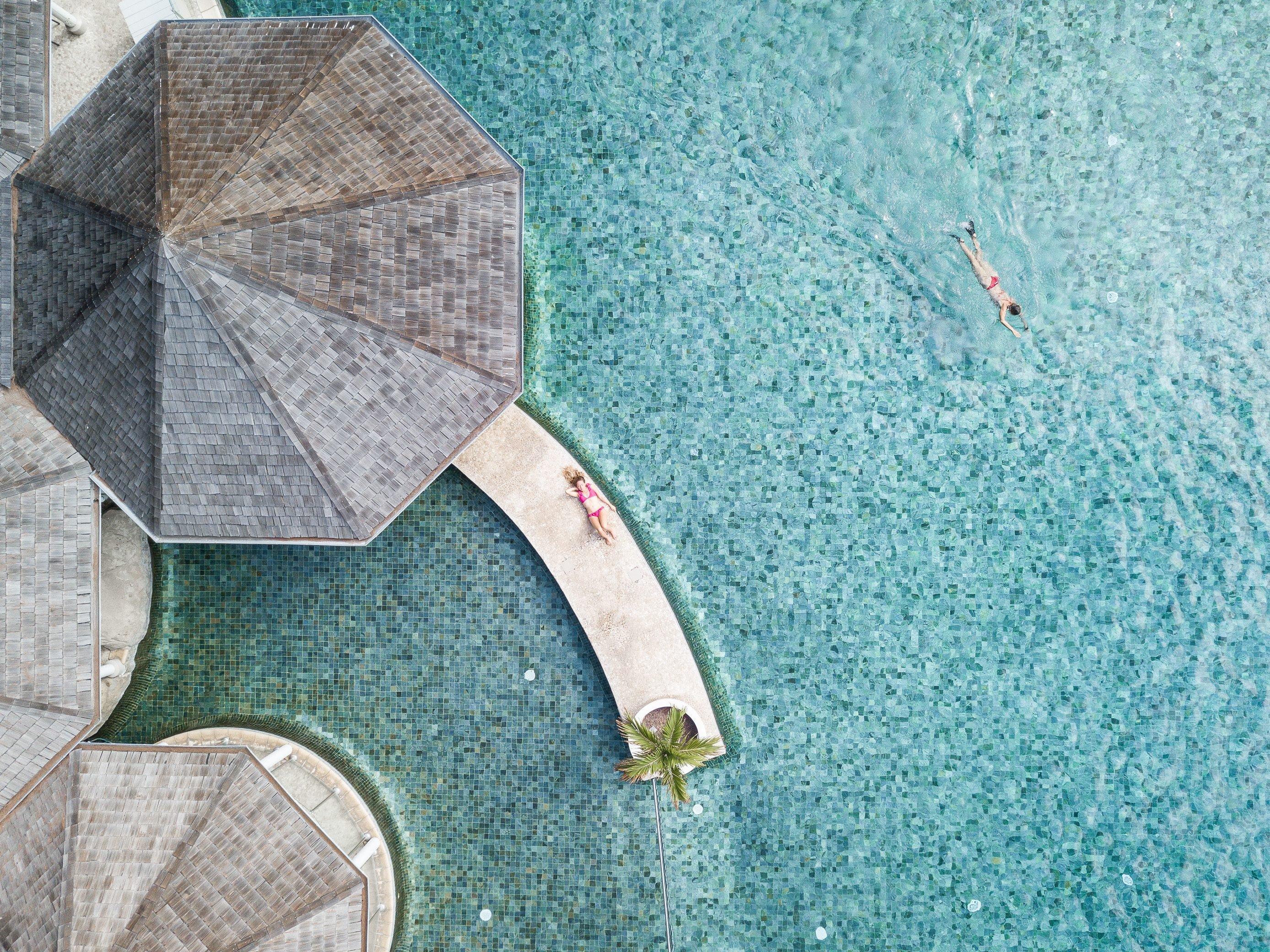 piscine à La Réunion
