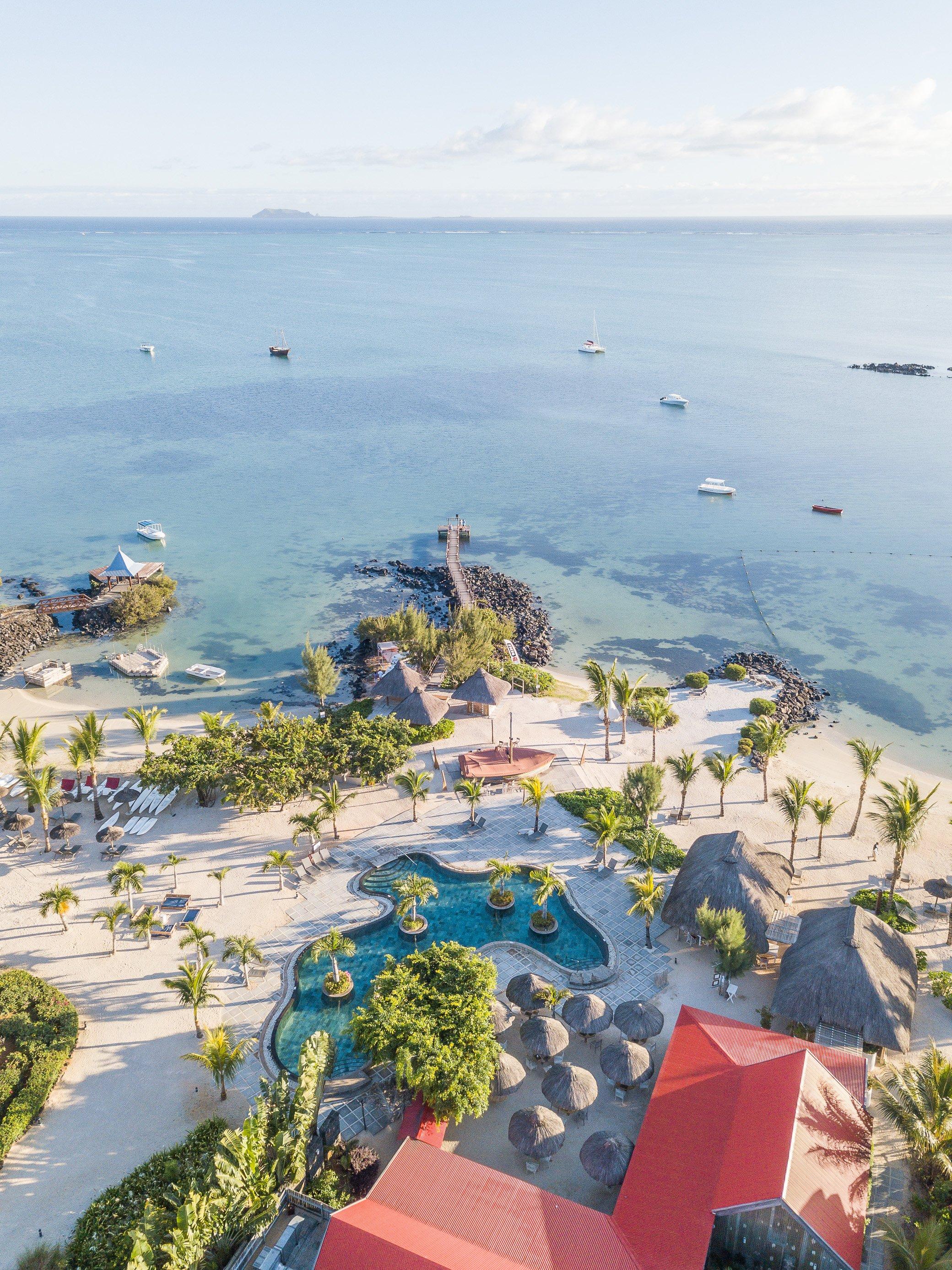 hôte vue sur mer à l'île Maurice