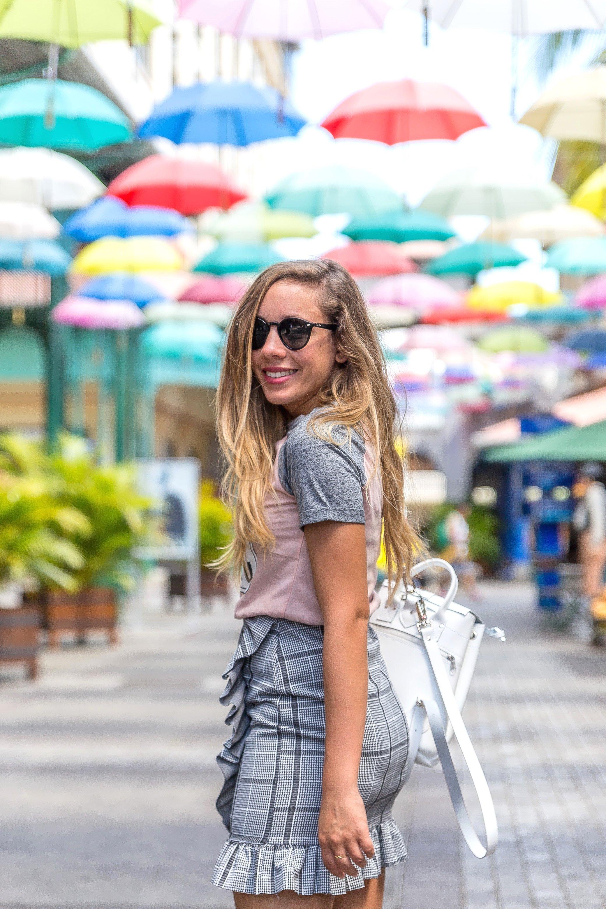 Blogueuse à l'île Maurice