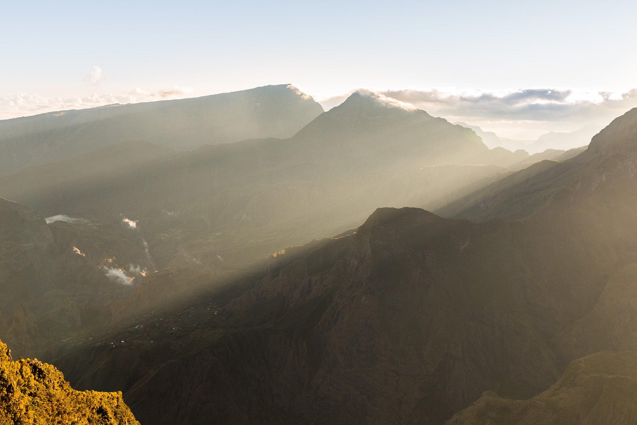 lever de soleil au Maïdo La Réunion