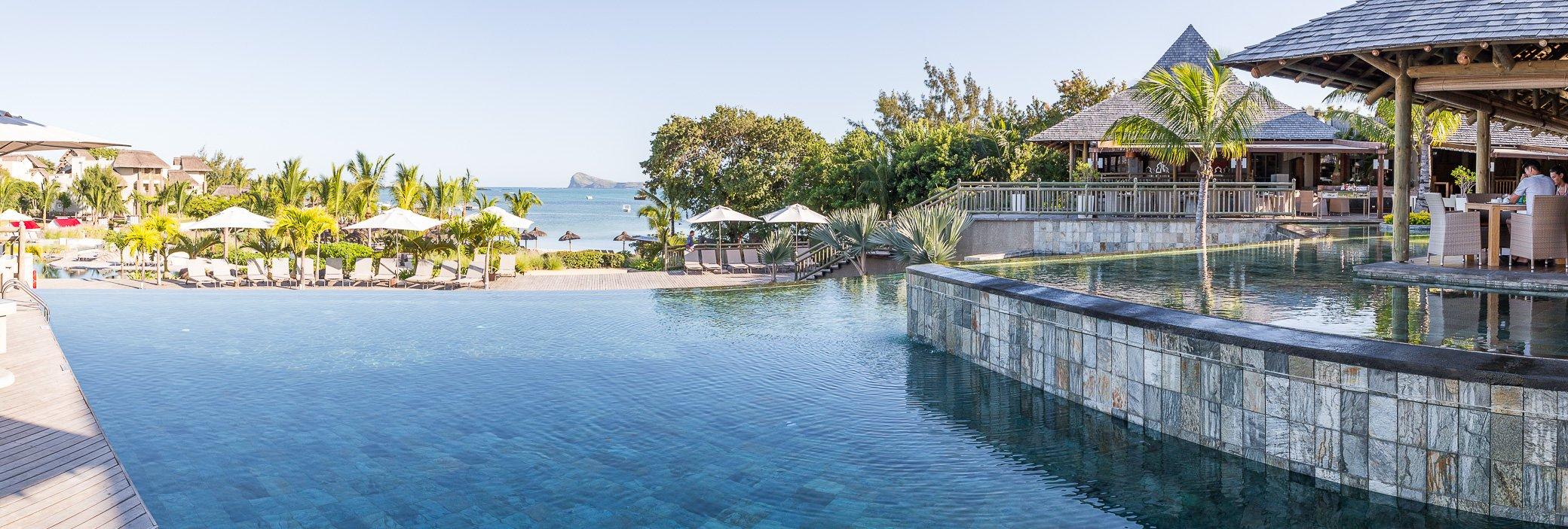 piscine débordement île Maurice