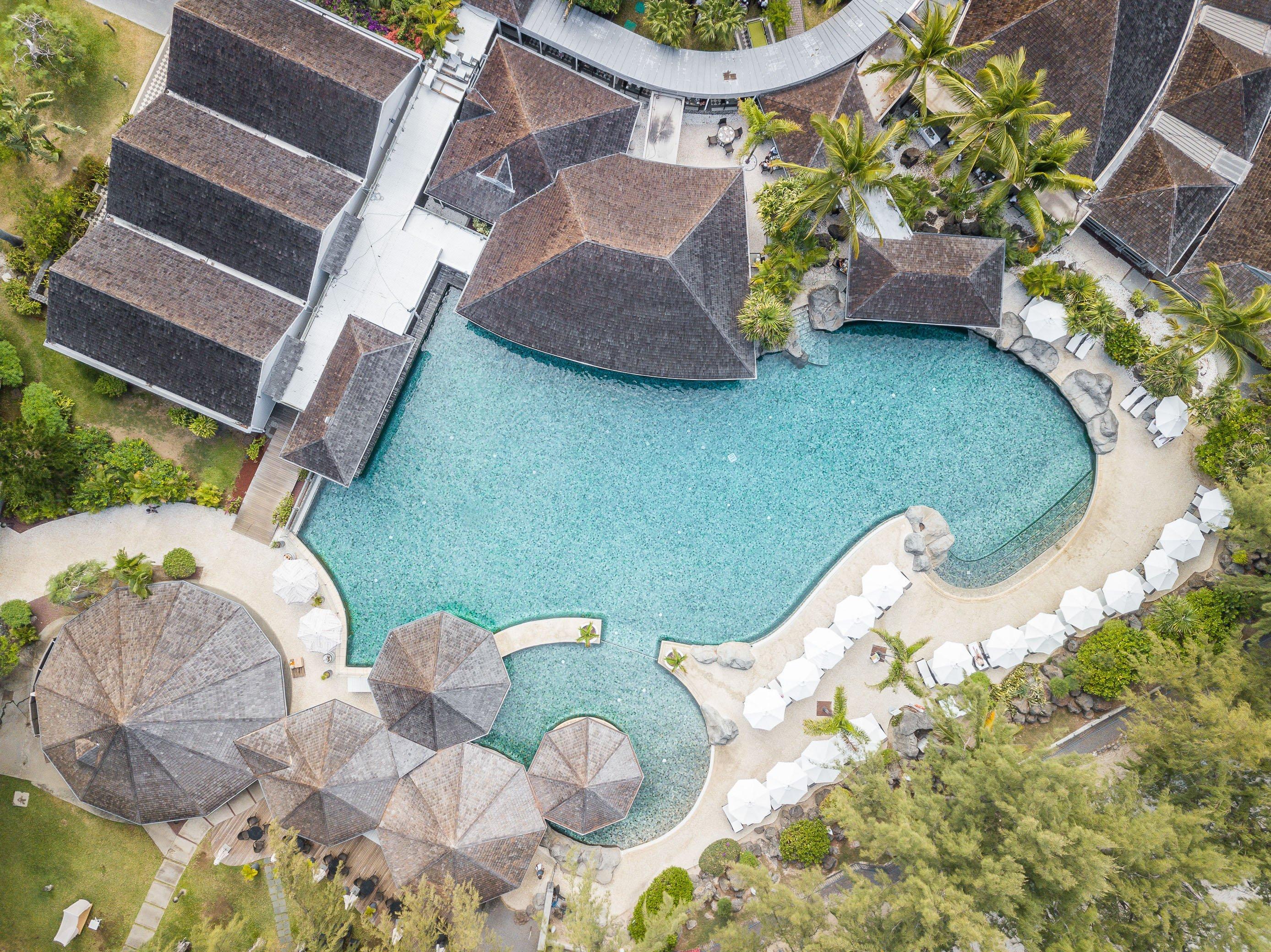 piscine LUX Saint Gilles La Réunion