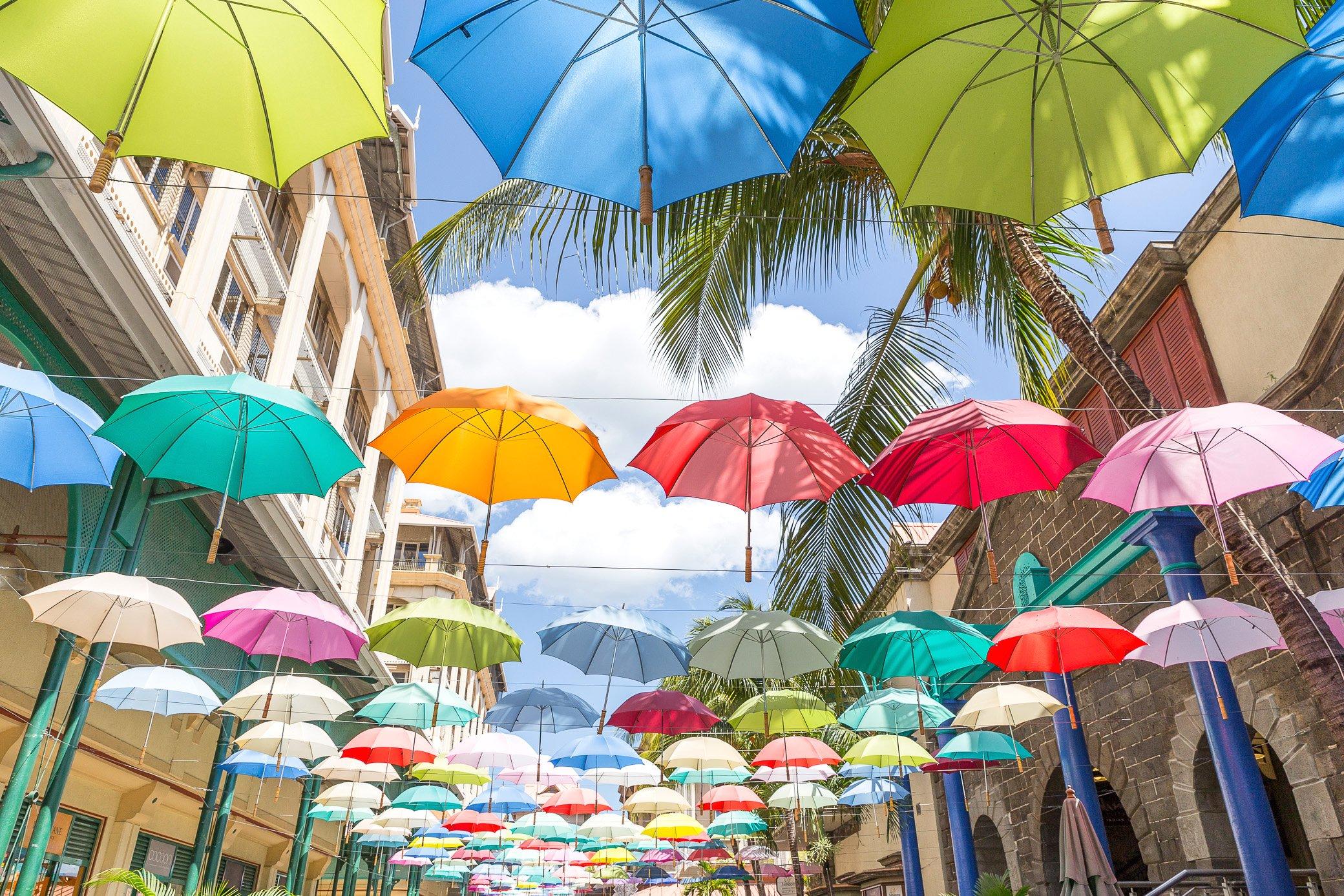 Port Louis Maurice Parapluie