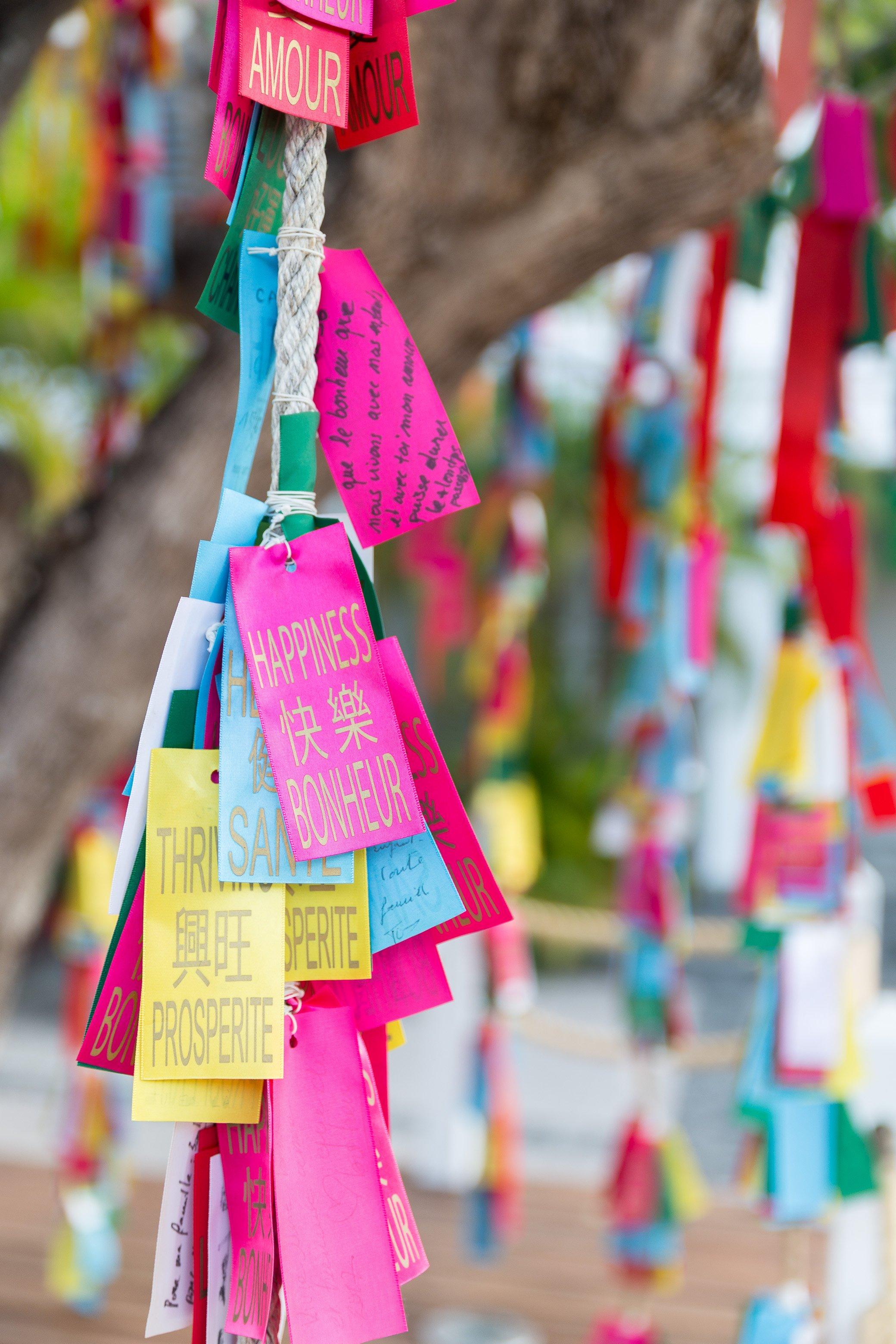 arbre à souhait bonheur