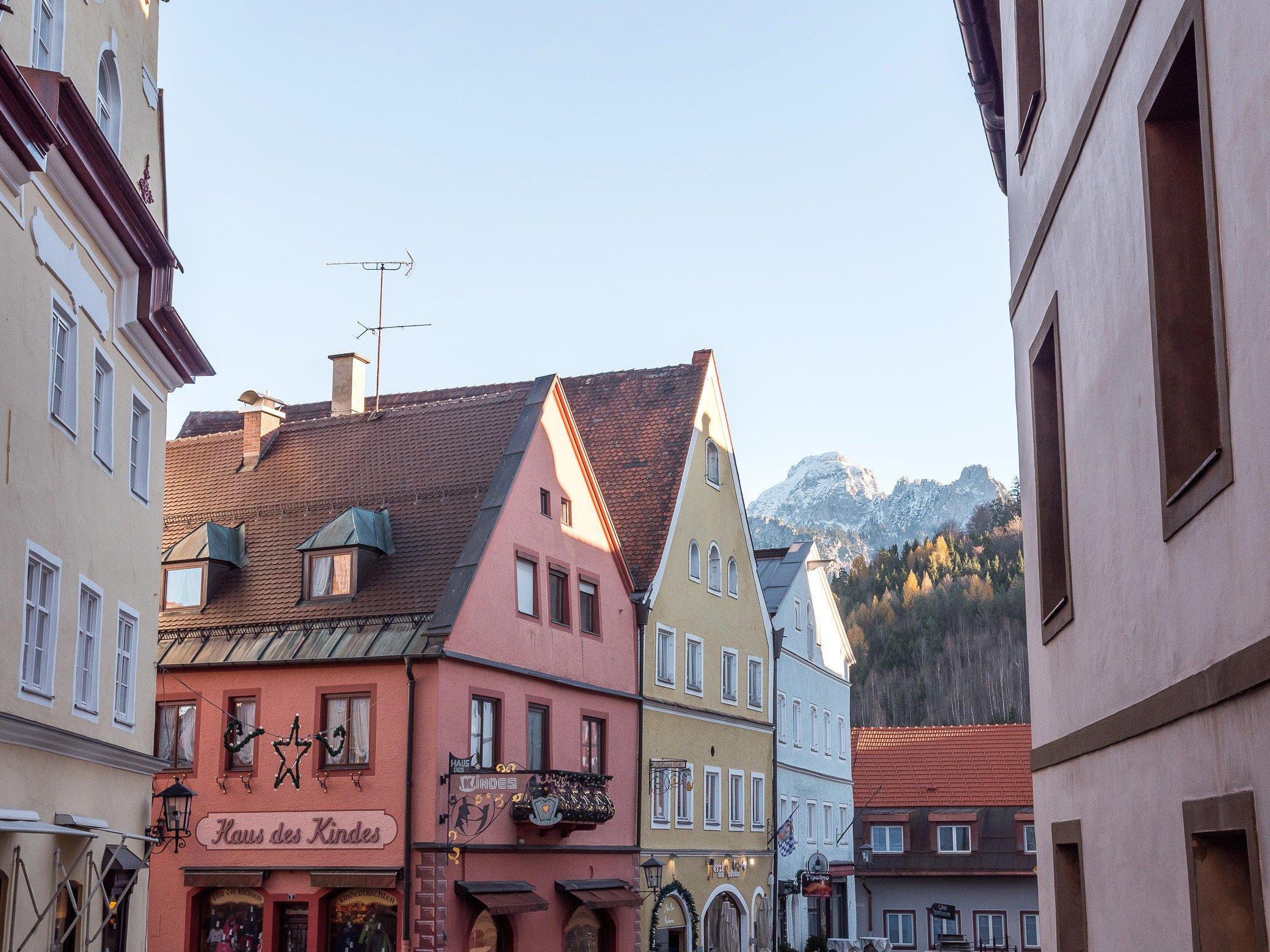 village Füssen visiter