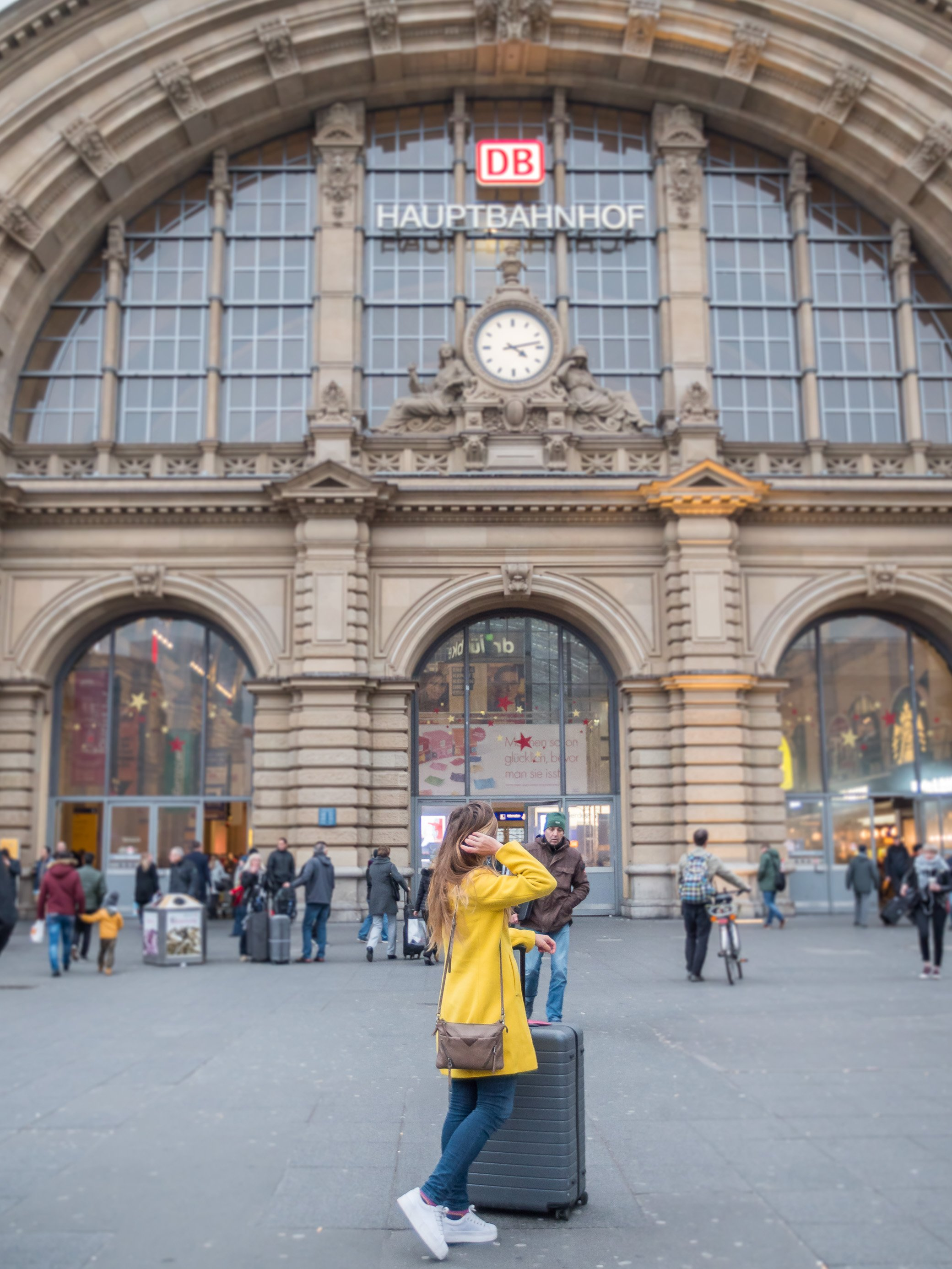 Gare centrale de Francfort