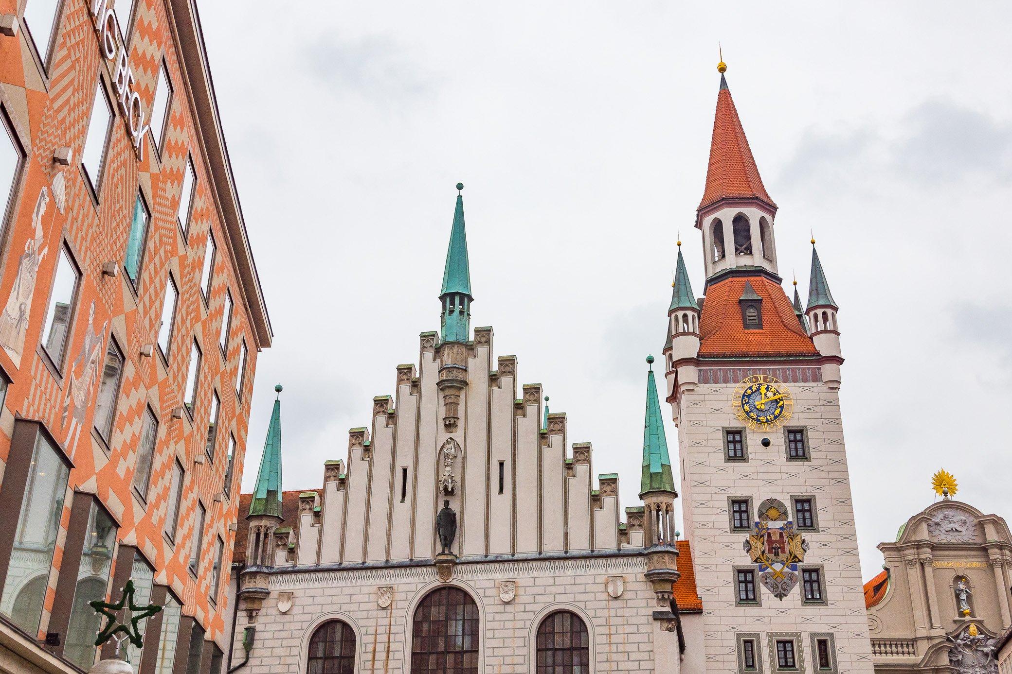incontournable Marienplatz