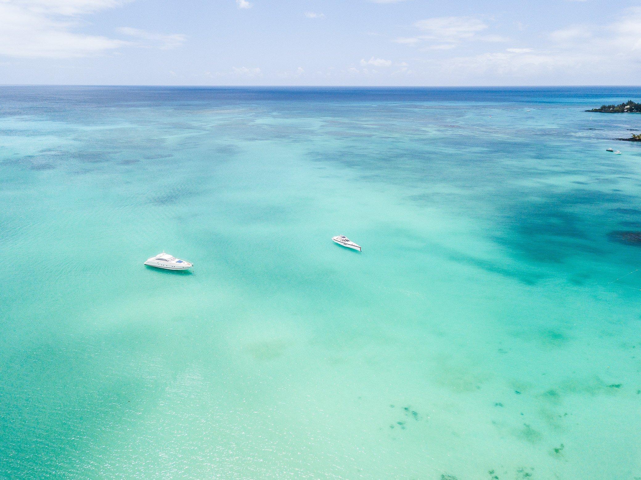 eau turquoise île Maurice