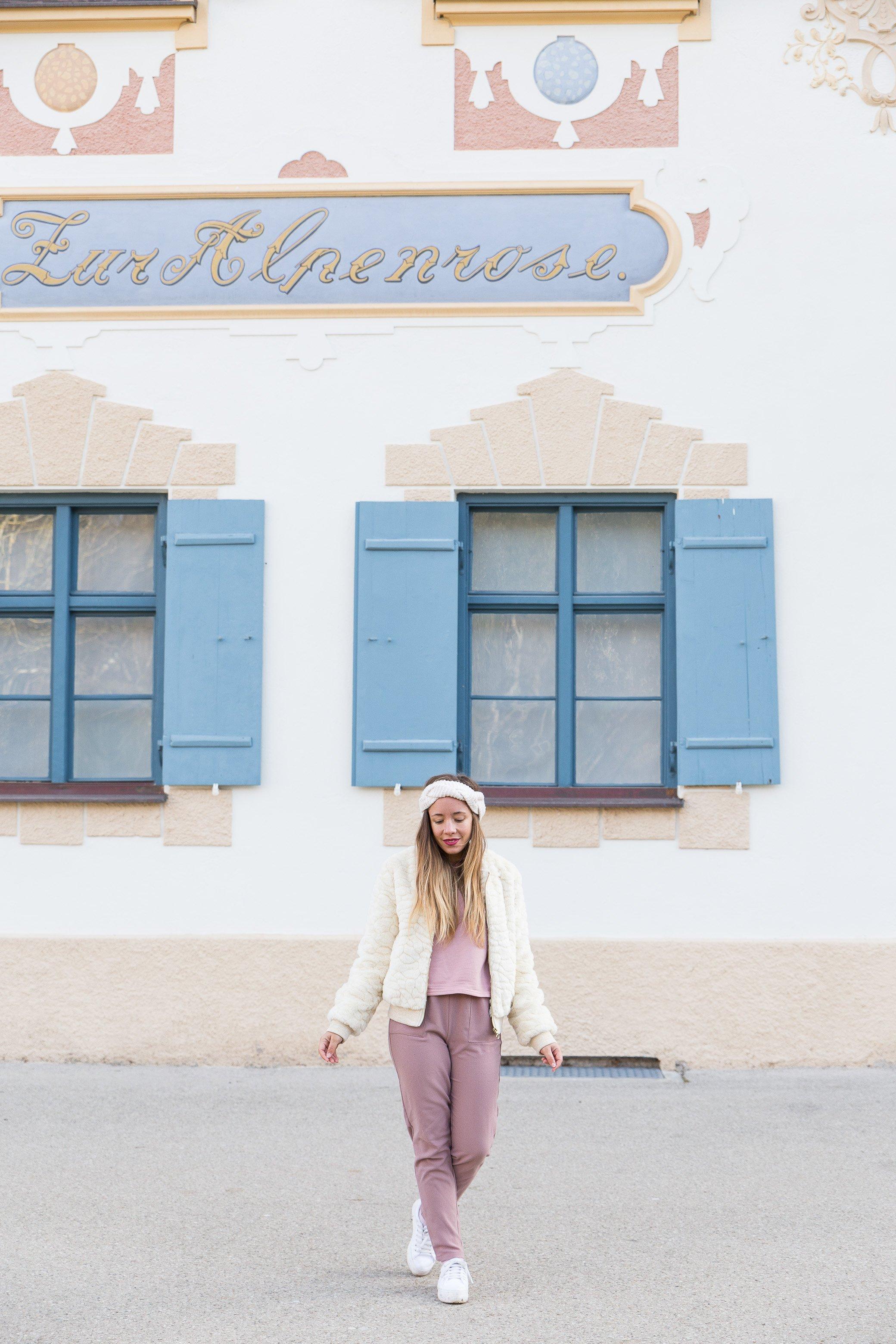 blog mode tenue rose pastel