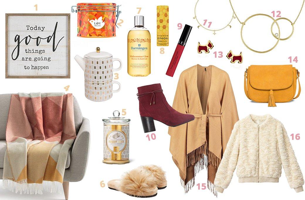 Sélection shopping automne