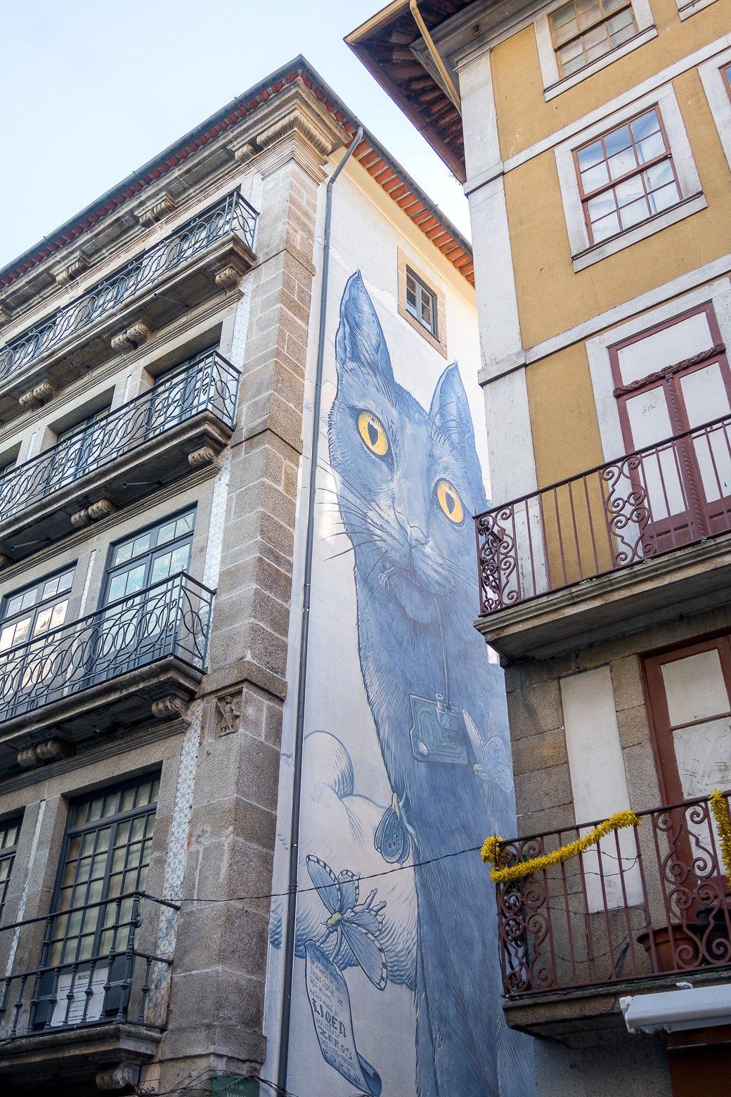 Mur peint à Porto