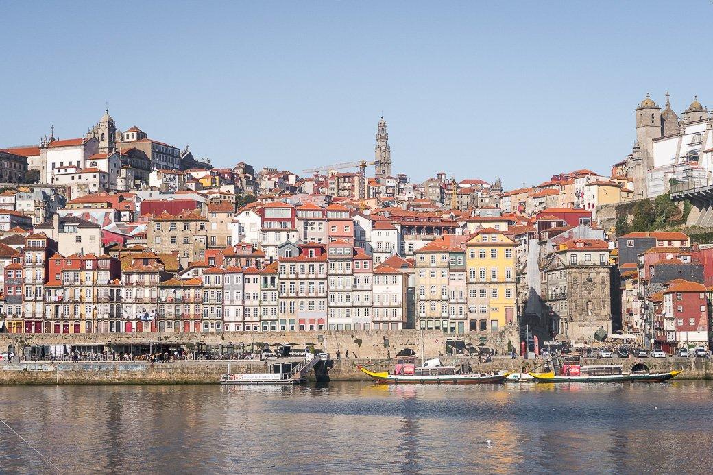 Porto vu depuis la rive sud