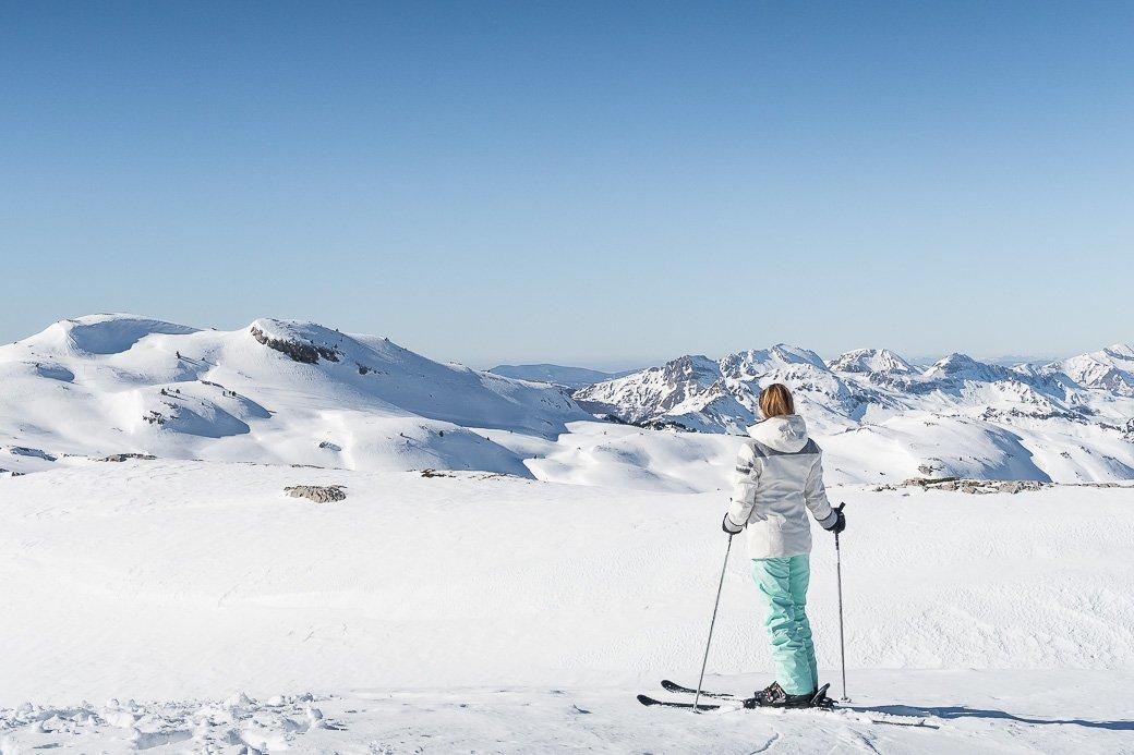 La pierre Saint-Martin station de ski